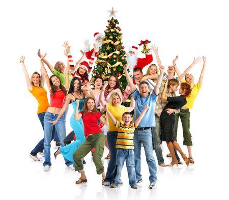Развлечения в кругу друзей на новый год